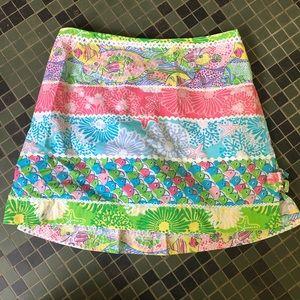 Lilly Pulitzer Girls' Skort Size 12